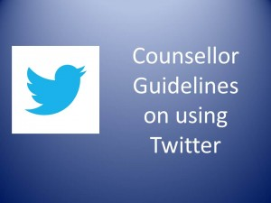 counsellor and twitter