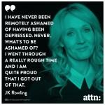 No shame in depression