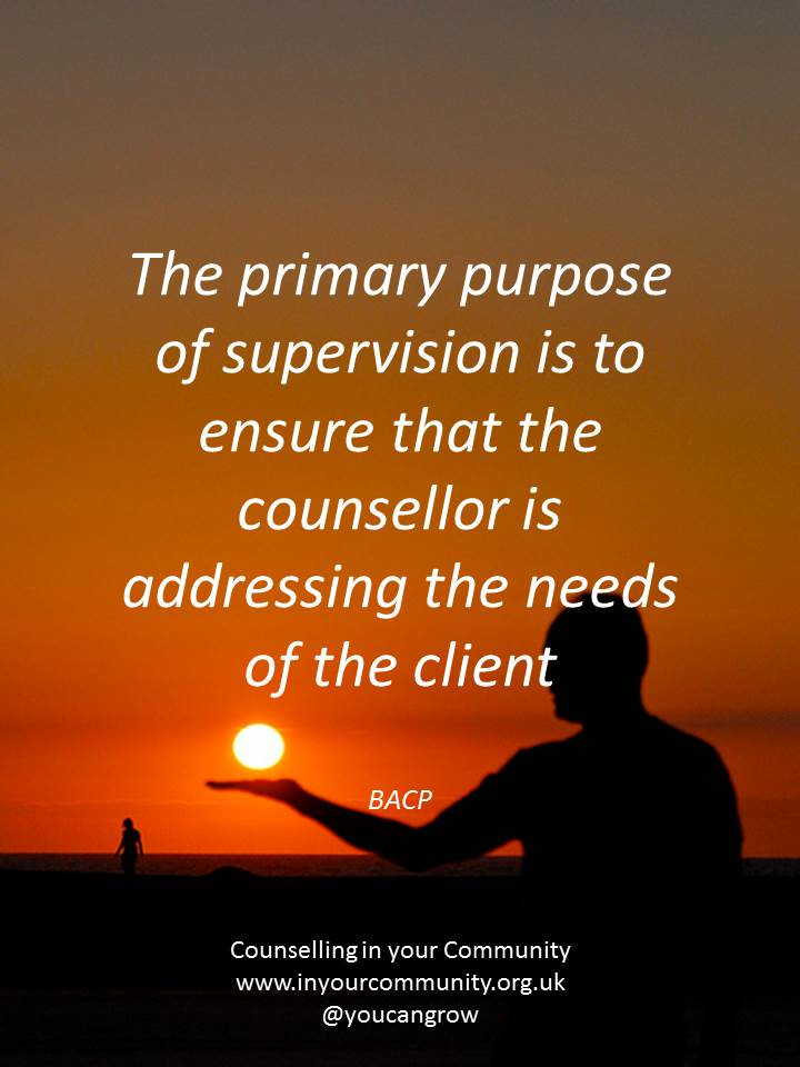 Counselling supervision